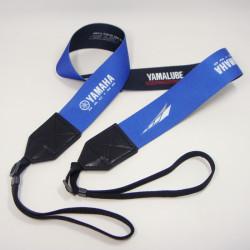 YAMAHA宣传赠品相机带提花丝印热转印logo高档相机带
