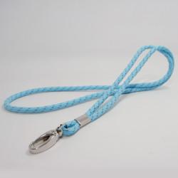 提花反光丝包芯圆绳挂带无弹耐磨证件挂绳