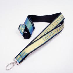 新品个性七彩反光证件带夜行识别挂绳胸卡织带