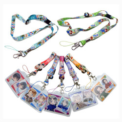 PVC Card holder lanyards