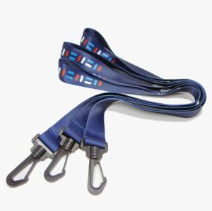 安全环保热转印胸牌挂绳企业厂牌织带