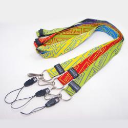 出日本精品双面异色高档提花织带演唱会赠品挂带