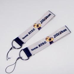 日本品质热转印手机绳短带U盘钥匙扣短绳