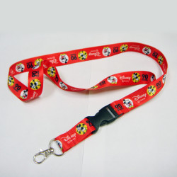 迪士尼米奇90周年庆宣传赠品纪念品定制挂绳热转印儿童挂带