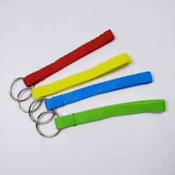 极简纯色可定制logoU盘钥匙短带