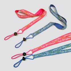 可爱小星星儿童水壶扣带安全可调节多功能水壶挂绳