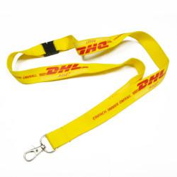 DHL公司员工工作证件套挂绳企业定制胸牌挂带