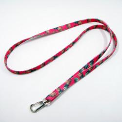 最新款热转印帆布窄带加厚的结实耐用的牛仔布挂绳