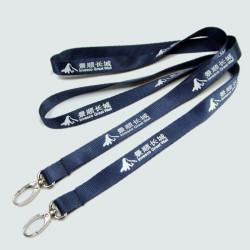 柔软光泽的尼龙证件套挂绳可定制厂家直销胸牌挂带
