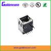 10/100/1000Base-T RJ45 modular jack connector with shell 8P8C female type inner transformer