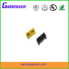 rj45 unshield female receptale jack connector 8P8C for PCB 1*2 dual ports Connectors with right angle type