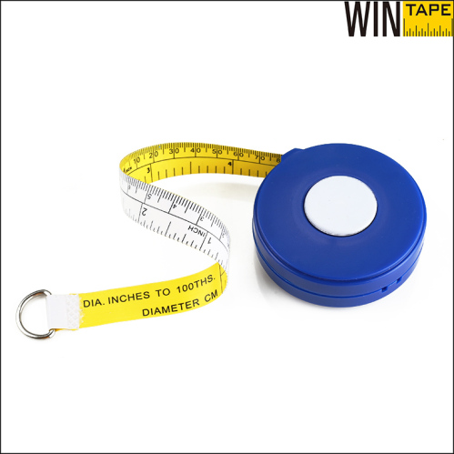 diameter tape measure by metric and decimal inch units