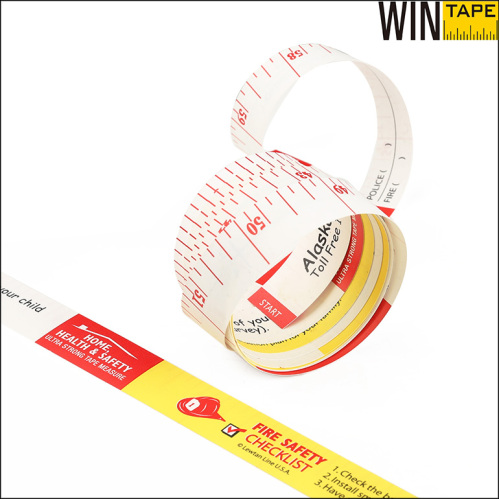 paper measuring tape Paper measuring tapes flexible tape measure features inches on one side and  centimeters on the other paper, disposable.