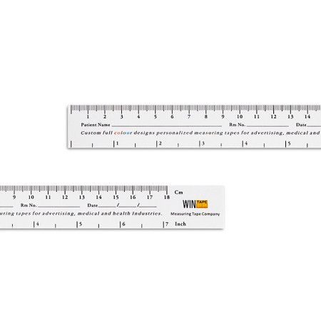 Easy Read Medical Disposable Paper Measuring Tape Wound Ruler