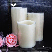 color change paraffin wax LED candle