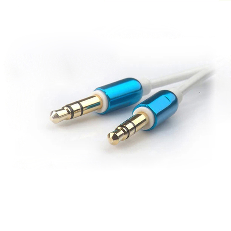 High Grade 3.5 Audio Flat Cable for Mobile Phone Speaker MP3