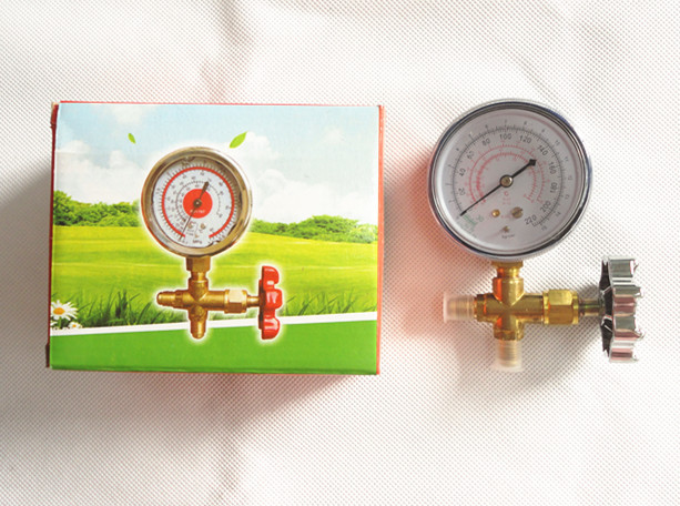 FRIEVER Pressure Gauges Brass Single Gauge