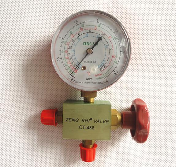 FRIEVER Pressure Gauges Aluminum Single Gauge