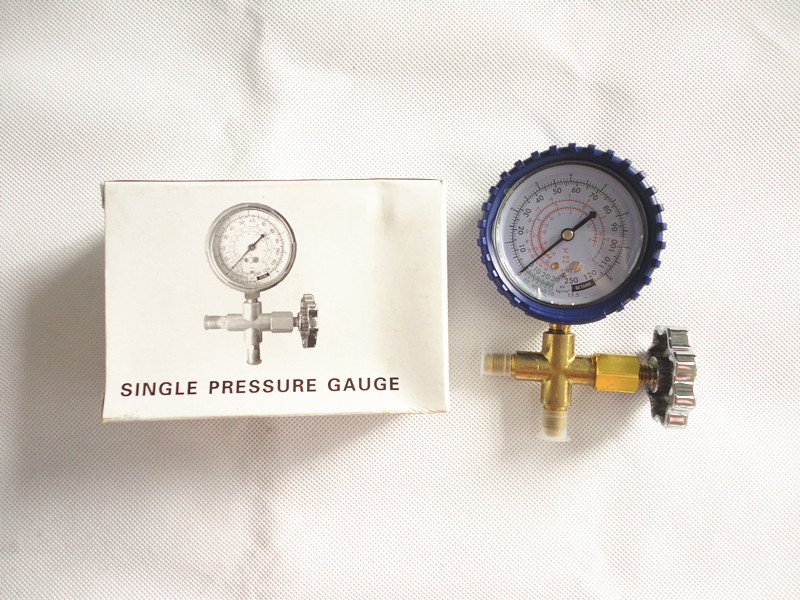 FRIEVER Pressure Gauges Single Gauge with Anti-shock Cover