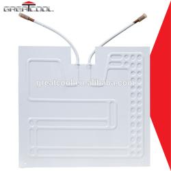 Buena calidad de refrigeración y el intercambio de calor de piezas de refrigerador serpentín del evaporador