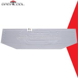 Aluminio placa frigorífico evaporador