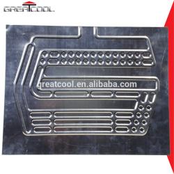 Buena calidad rodillo refrigerador de bonos de aluminio de aluminio