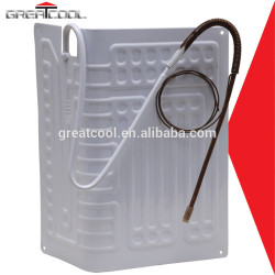Buena calidad de aluminio de refrigeración rollo de bonos evaporador