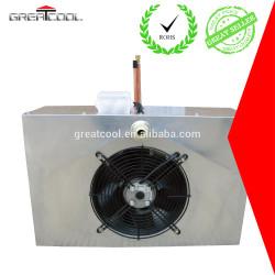 Greatcool refrigerado por aire condensador con ventilador