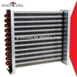 Greatcool partes del refrigerador de tubo de cobre de aluminio condensador de la bobina