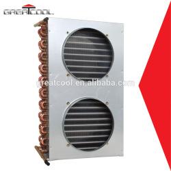 Greatcool refrigeración y el intercambio de calor de piezas del refrigerador condensador