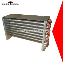 Greatcool intercambiador de calor condensador de aire acondicionado de la bobina