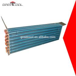 Greatcool intercambiador de calor de acero inoxidable de condensador de la bobina