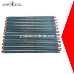 Greatcool refrigeración y el intercambio de calor de piezas congelador condensador de la bobina