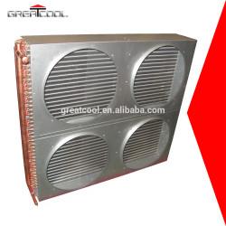 Greatcool refrigeración y el intercambio de calor de piezas de condensador de la bobina con precio