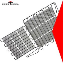 Greatcool refrigeración y el intercambio de calor de partes tubo de alambre de condensadores