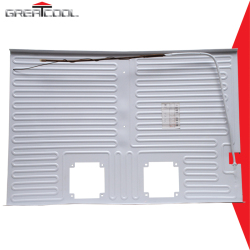 Good Quality Refrigerator Parts Roll Bond Aluminum Evaporator