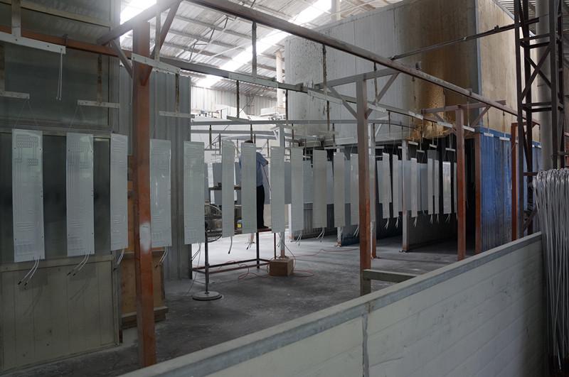 freezer roll bond evaporator