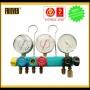 FRIEVER 5 way manifold gauge (manifold set,manifold gauge, refrigerant gauge)