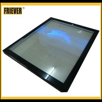 FRIEVER Refrigeration Equipment Engraving Glass Door For Showcase