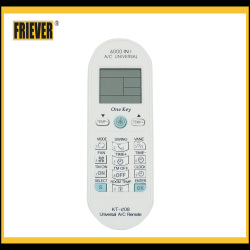 FRIEVER universal air conditioner remote control codes KT-E08