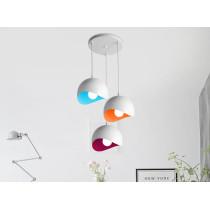Aluminum Lamp Shade Restaurant Art Ceiling Lamp Bar Hotel Club Creative Droplights Small Pendant Lamps