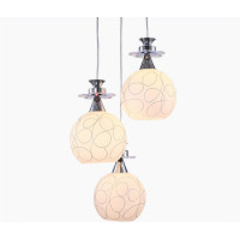 Home Dining Room Droplights Exhibition Hall Bar Restaurant Entertainment Pendant Lamps LED Light Bulb Creative Ceiling Lights Luxury Fashion Simple Style