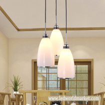Dining Room Home Drop Light Restaurant Hotel Bar Exhibition Hall Pendant Lamp Simple Fashion Style Ceiling Lamp LED Light Bulb