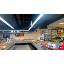Energy saving Ra>80 600mm LED T8 Tubes with CE RoHS for supermarket display lighting