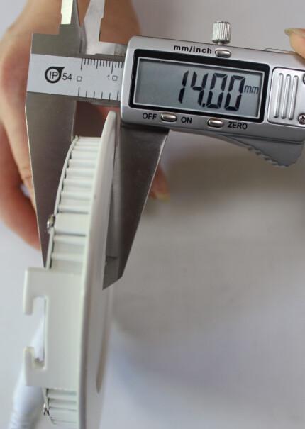 3W / 6W / 12W / 18W luz de panel redonda ultrafina