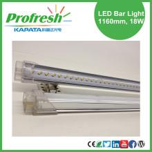 Luz de tira blanca pura del LED 1160m m 18W para el estante de las frutas