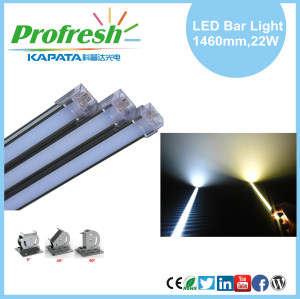 Luces LED Beam Angel 120 ° Beads y 1460mm 22W Beam