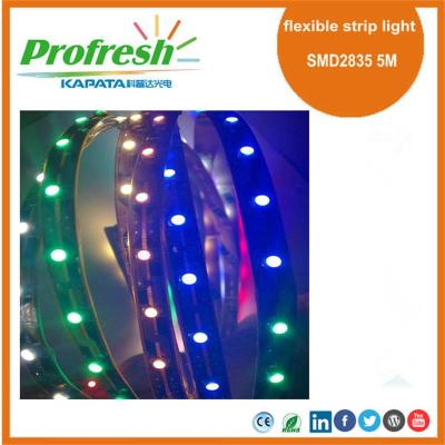 Luz de tira flexible profesional de 5M SMD2835 DC12V para la iluminación de carnes, productos de panadería, charcutería, verde o lácteos