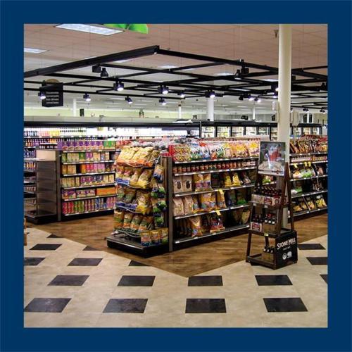 La luz de la pista del microprocesador de la MAZORCA 30W 4000k para las frutas o las verduras exhibe el supermercado de la tienda de la producción del verde