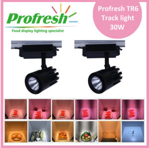Profresh 30W meat COB LED track light with 4 wire lines